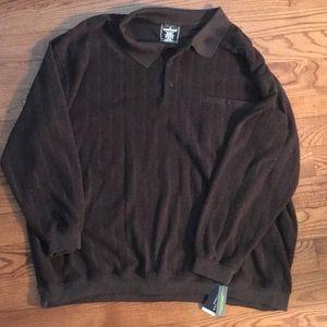 Other - 🌟NWT🌟 Dark Brown Long Sleeve Shirt
